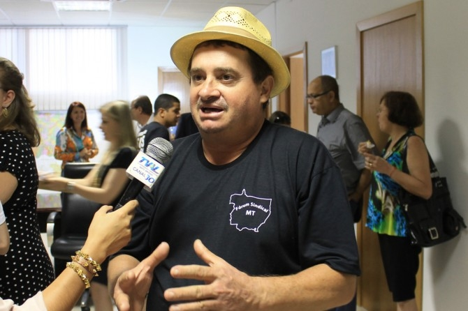 gilmar brunetto membro do forum sindical mt